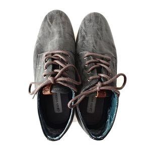 Ben Sherman Preston Lace Up  Grey Sneakers 10.5